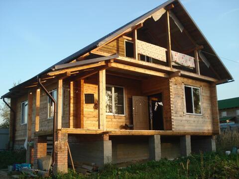 Продам брусовой дом в пос. Нарынка - Фото 1