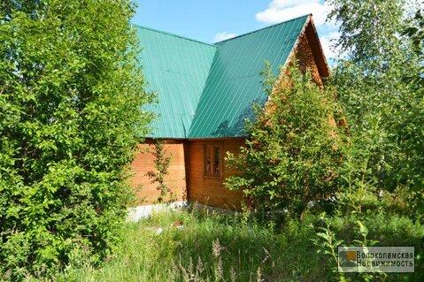 Дача (дом+баня) на участке 12сот в деревне Посаденки Волоколамский р-н - Фото 2