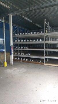 Сдается теплое складское помещение 330м2, 1эт, ул. Салова 46 - Фото 2