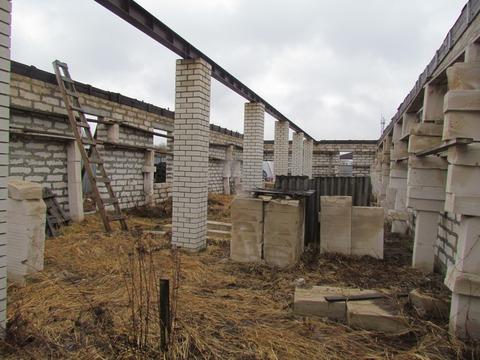 Производственное помещение (недострой) на участке пром.назначения 25 с - Фото 3