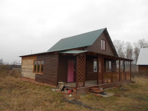 Дом с мансардой в село Долгинино, Рязанского района, Рязанской области - Фото 4