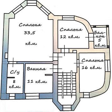"""Дом """"под ключ"""" с дивным садом, 500 кв.м, 12 сот, 7 км от МКАД - Фото 3"""