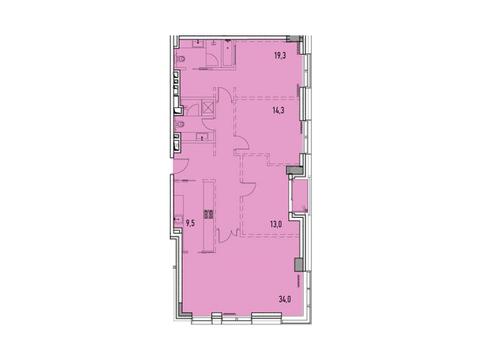 """Продается 4-к. квартира, 118,05 кв.м. в ЖК """"Фили парк"""" - Фото 1"""