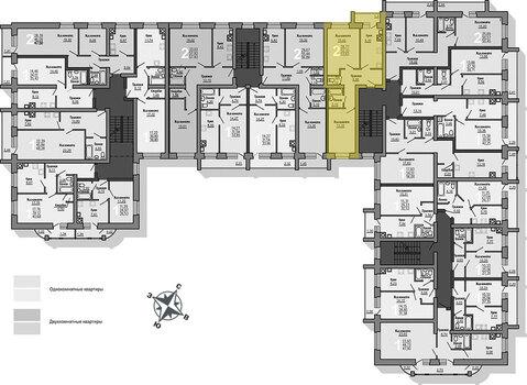 Продажа 2-комнатной квартиры, 53.62 м2, Проезжая, д. 31 - Фото 2