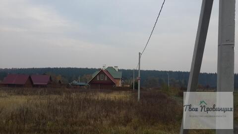 Участок 12 соток с лесными видами в деревне Протасово Ступинского р-на - Фото 2