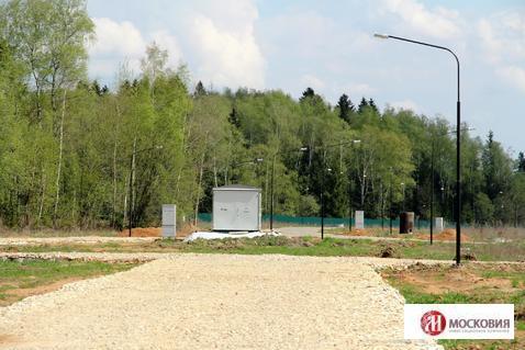 Участок 10 соток в поселке, окруженном лесом, 38 км по Киевскому ш. - Фото 5