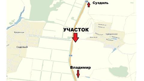 Продаю участок пром. назначения на трассе Владимир-Суздаль