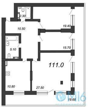 Объявление №42072879: Квартира 3 комн. Санкт-Петербург, Крапивный пер., 4А,