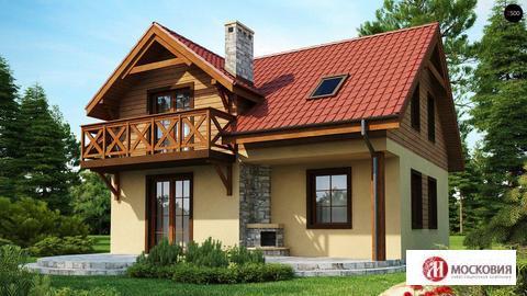 Дом 112 кв.м. в живописном охнраняемом поселке, 31 км от МКАД, Калужск - Фото 1