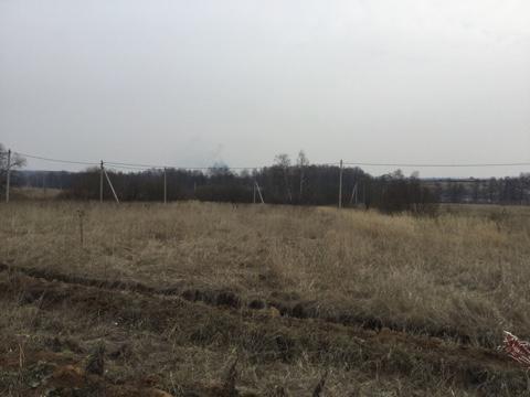25 соток пос.Шарапово Чеховского района - Фото 1