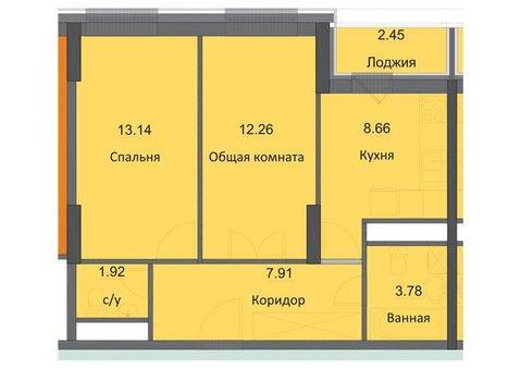 Продам 2-ую квартиру-новостройку в ЖК Циолковский, Обнинск - Фото 1