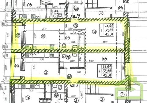 Однокомнатная 43 кв.м. с индивидуальным отоплением - Фото 2