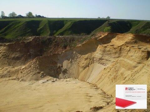 Песчаный карьер в Ленинградской области