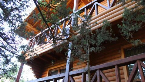 Трехэтажный дом сруб в Гаспре - Фото 1