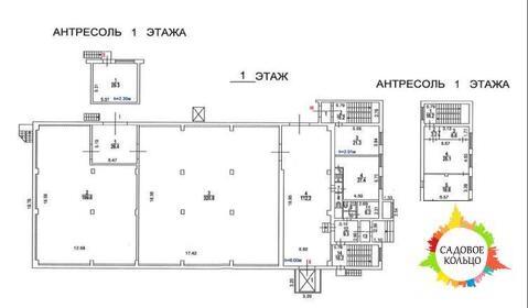 Объект представляет собой 2-этажное отдельно-стоящее кирпичное здание, - Фото 3