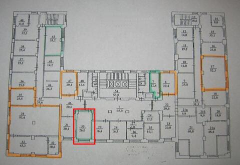 Офисное помещение, 26 м2 - Фото 4