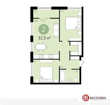 Продажа 2-х комнатной квартиры в г. Видное - Фото 2