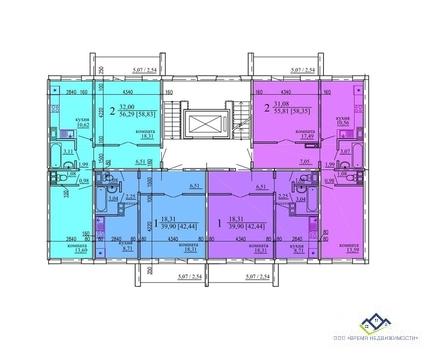 Продам квартиру Гранитная 23, 8 эт, 60 кв.м Цена 2090т.р новостьройка - Фото 2