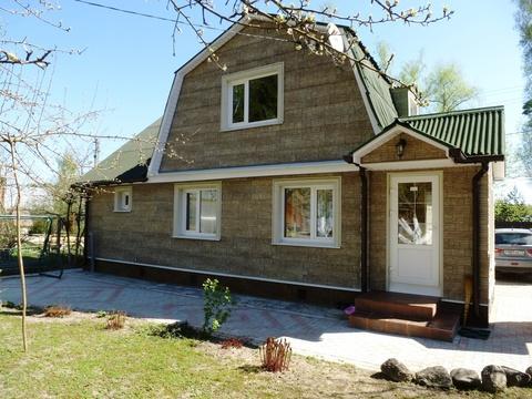 Продам тёплый дом с коммуникациями 110 кв.м. около с. Семеновское - Фото 1