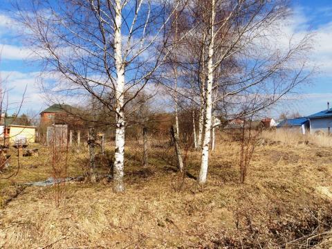 15 соток в деревне Лубенки, Можайское водохранилище, 200 м до берега. - Фото 1