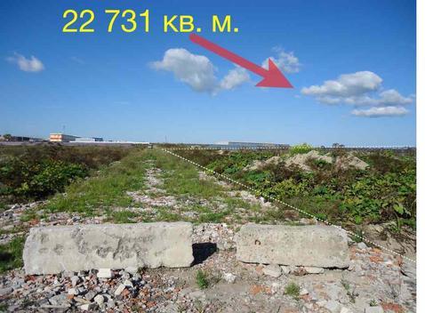 Участок 22 731 метр кв, пром. назначение, все коммуникации, есть газ - Фото 2