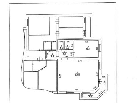 Двухкомнатная 82 кв.м. в новом кирпичном доме - Фото 3