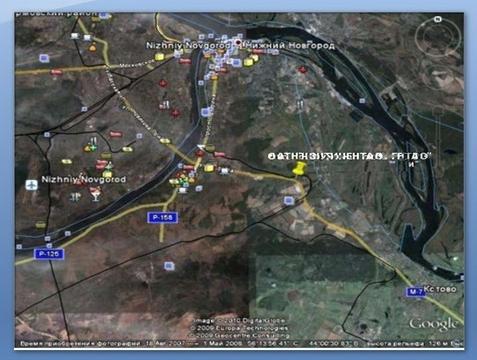 Земля 3,8 Га, первая линия трассы м7, Нижегородская область - Фото 3