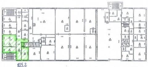 М.шелепиха 10 м.тр , сдается офис 105,2кв.м на 3/4 здания - Фото 5