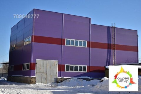 Сдается отдельно стоящий новый склад 1800 кв - Фото 1