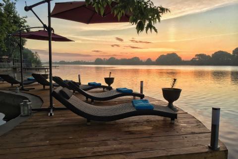 Vip Коттедж на берегу реки с частным пляжем для проведения банкетов! - Фото 2