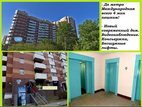 Комфортная квартира у метро Международная! - Фото 2