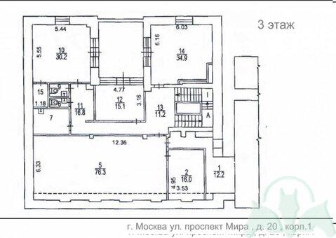 Аренда псн, м. Проспект Мира, Мира пр-кт. - Фото 3