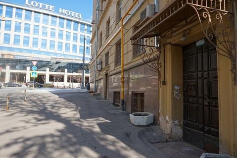 Двухкомнатная квартира 66м2 в фасадном сталинском доме, м.Смоленская - Фото 3