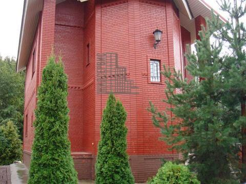 Кирпичный дом с баней русской в охраняемом поселке, Мышецкое - Фото 1