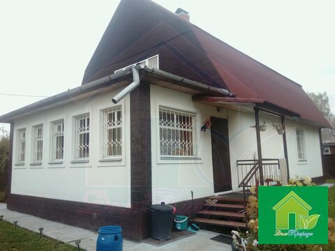 Д. Назарово, дом 170 кв. м на участке 8 соток - Фото 1
