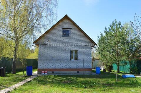 Кирпичный дом в жилой деревне на участке 15 соток. Боровск. - Фото 2
