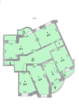 Продажа 3-к квартиры в элитном доме - Фото 4