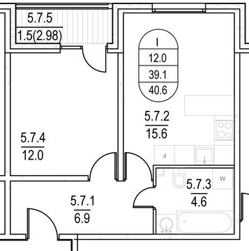 Продается 1-комнатная квартира в ЗАО - Фото 1