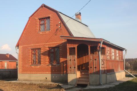 2-этажный дом 90 м2 (брус) на участке 15 сот, Киевское шоссе, 40 км - Фото 1