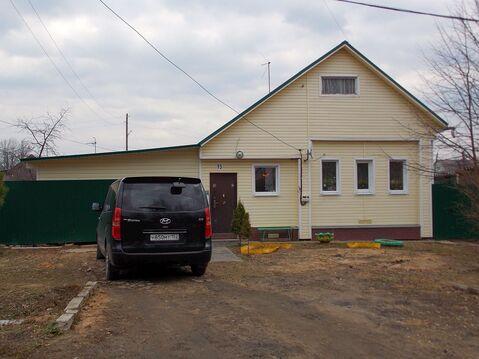 Новый бревенчатый дом с газом и баней в пос. Лежнево - Фото 3