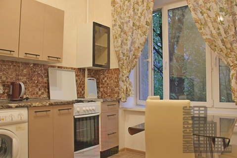 2-комнатная квартира на Ленинском проспекте, евроремонт, новая мебель,0% - Фото 1