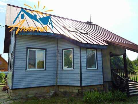 Большой дом в деревне Ореховка Калужской области около пруда - Фото 3
