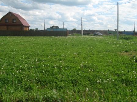 Участок 15 сот. в деревне, ИЖС, электричество подключено 15 квт, огорож - Фото 2