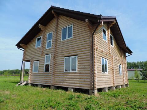 Новый дом из бревна - Фото 1