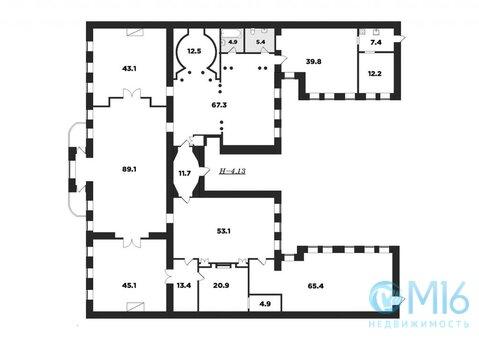 Уникальная историческая квартира в центре - Фото 2