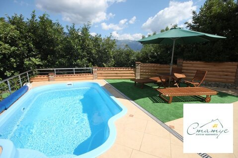 Аренда посуточно дома в двух уровнях с бассейном и террасой - Фото 3