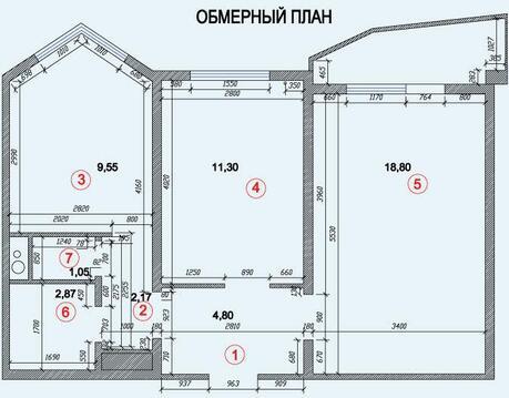 Бутово- Парк 2, Новое шоссе д 9, двухкомнатная квартира - Фото 2