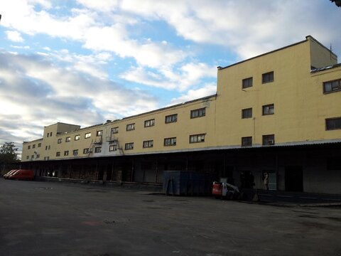 Отапливаемый склад, с пандусом под е/фуру, м. Алтуфьево - Фото 1
