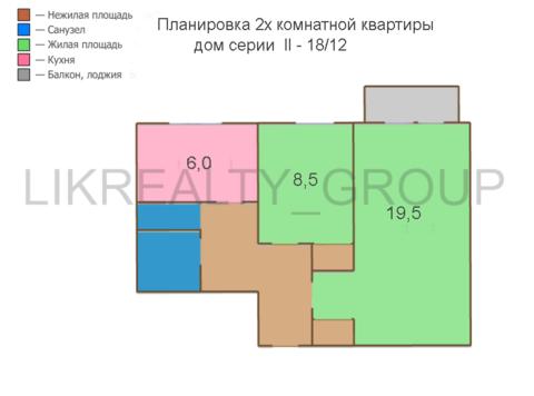 Уютная 2х комнатная квартира в Царицыно - Фото 5