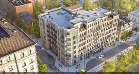 2-х комн. апартаменты 71,3 кв.м. в доме премиум-класса в ЦАО г. Москвы - Фото 2